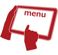 タブレットによる非接触注文|飲食店向けECショップで出来ること(オプション)